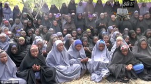 About 250 schoolgirls were kidnapped in April by members of the militant group Boko Haram