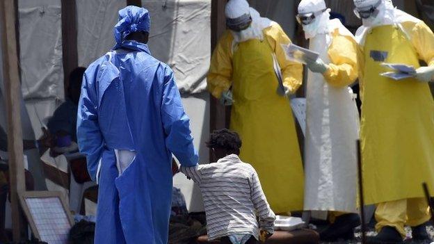 Ebola Children being orphaned