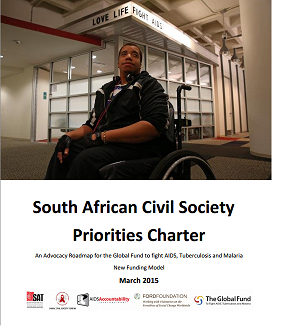 AIDS Accountability International Priorities Charter ZA